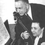 El dúo Cassadó-Larrocha.
