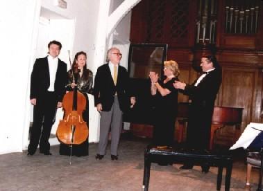 Concierto en París como homenaje a Montsalvatge,